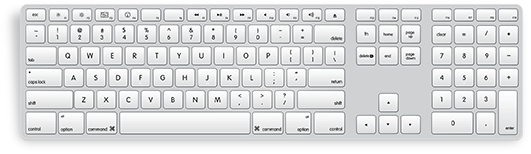 keyboard-with-numeric-keypad